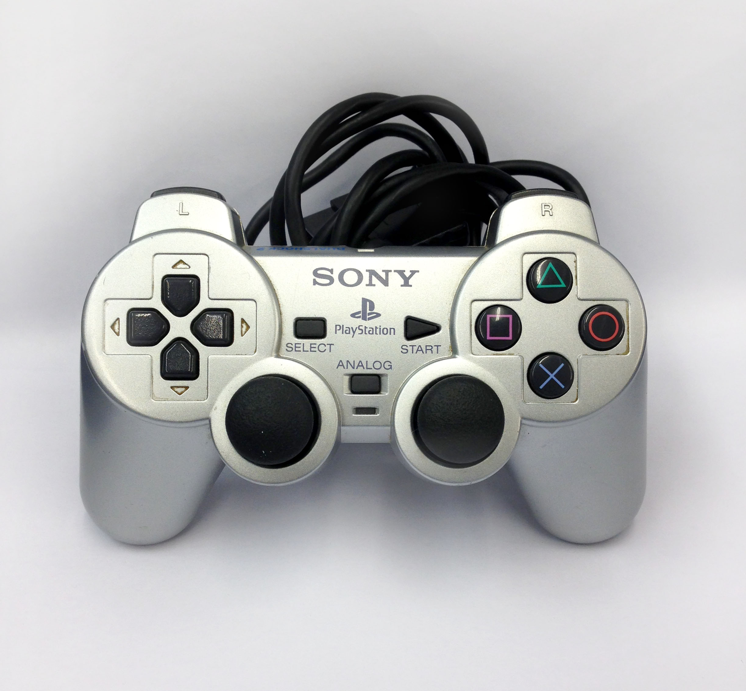 Consoles Playstation 2 Accessories Sony Controller Silver