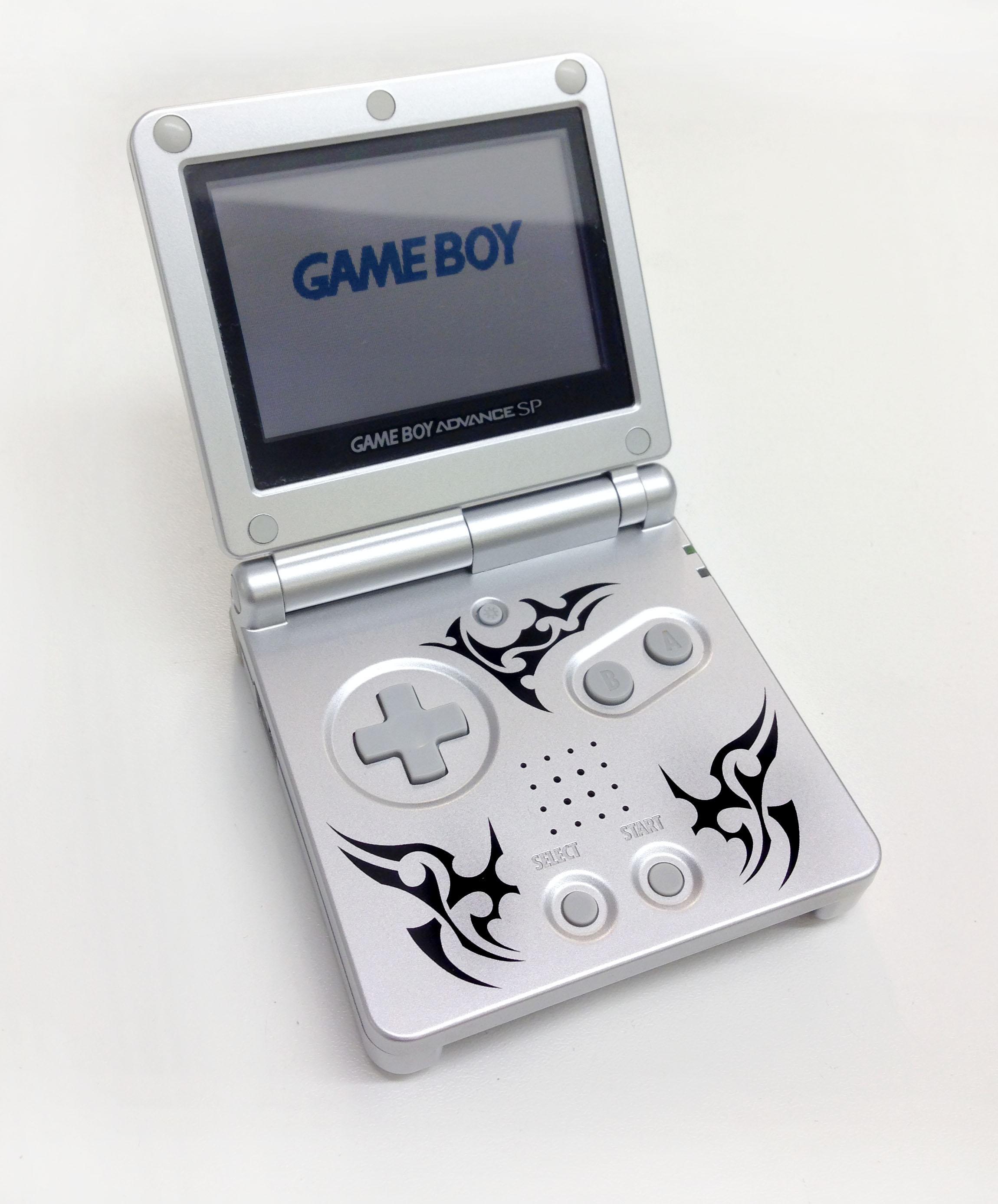 Game Boy Advance Sp : Hand held nintendo game boy pocket color
