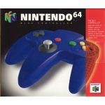 Nintendo 64 Controller Blue.