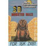 3D Monster Maze.