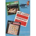 Cludo - Monopoly - Scrabble