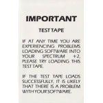 Sinclair Test Tape