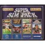 Super Sim Pack, tennis, crazy cars2, Italy90, Rang