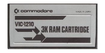 3K RAM Cartridge