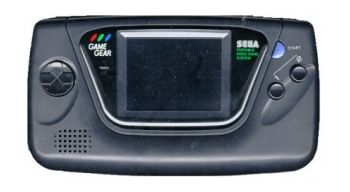 Game Gear Console. Unboxed
