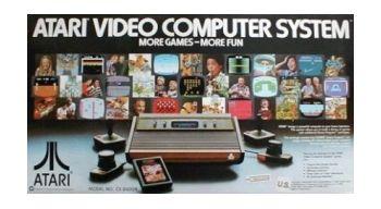 Atari 2600. Console Boxed