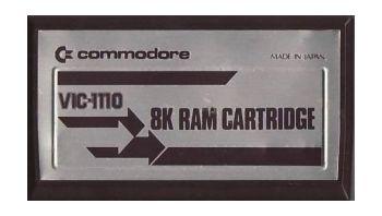 8K Ram Cartridge, VIC-1110