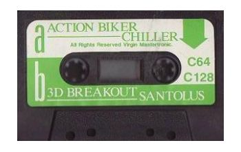 Action Biker/3D Breakout Santolus