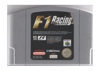 F1 Racing Championship.