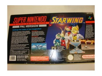 SNES Console includes Starwing