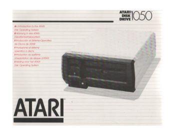 Atari 1050 Disk Drive Manual