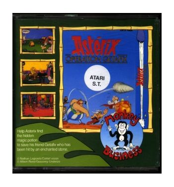 Asterix Operation Getafix (disk)