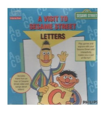 A Visit To Sesame Street Letters