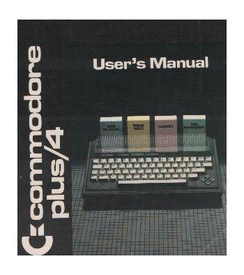 Commodore Plus/4 User Manual