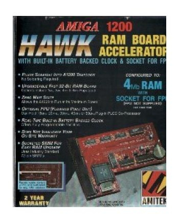 Amiga 1200 RAM Board Accelerator.