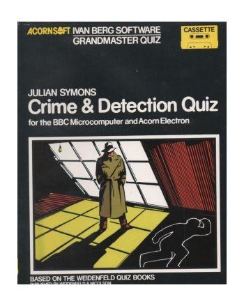 Crime & Detection Quiz