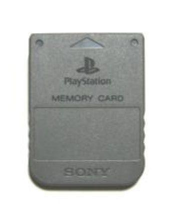 Playstation Memory Card. (SEALED)