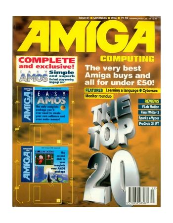 Amiga Computing. Issue 81. Christmas 1994