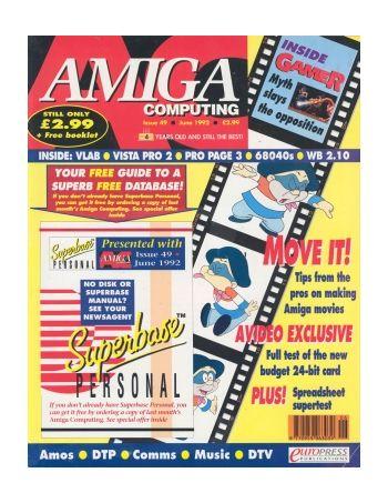Amiga Computing. Issue 49. June 1992