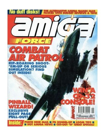Amiga Force. Issue 11. November 1993