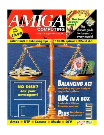 Amiga Computing, Issue 51, Aug 1992