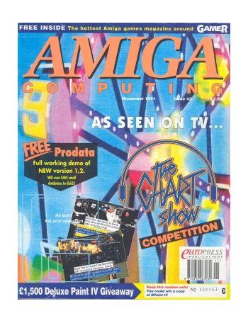 Amiga Computing.Issue 42. November 1991