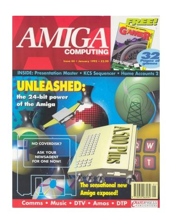 Amiga Computing. Issue 44. January 1992