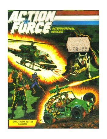 Action Force International Heroes (Virgin Games)