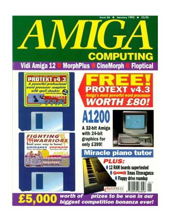 Amiga Computing Issue 56 January