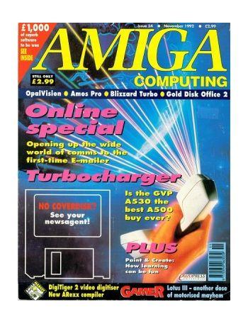 Amiga Computing, Issue 54, Nov 1992