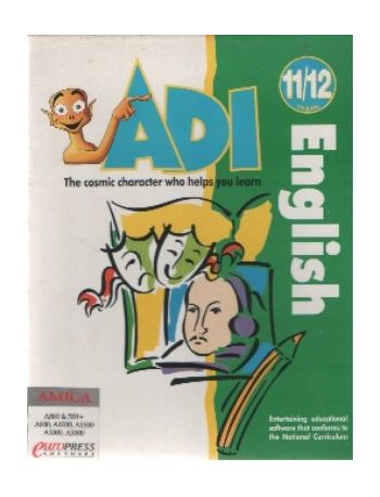 ADI English. 11/12 years