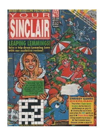 Your Sinclair. Issue 73. January 1992