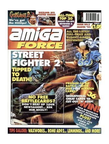 Amiga Force. Issue 3. March 1993