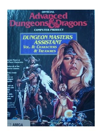 AD&D: Characters and Treasures