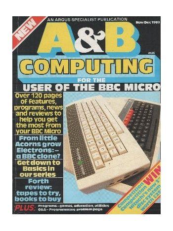 A & B Computing. Nov/Dec 1983