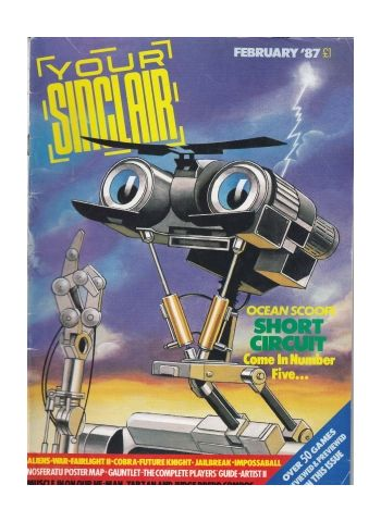 Your Sinclair February 1987