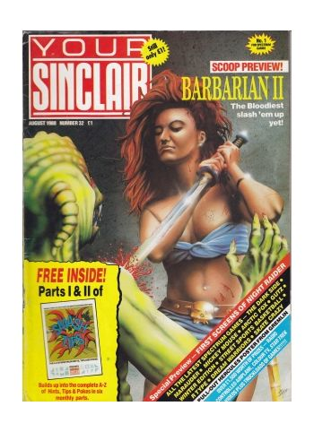 Your Sinclair. August 1988. Number 32.