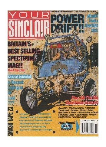 Your Sinclair. Issue 47. November 1989