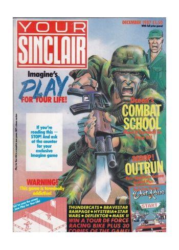 Your Sinclair December 1987