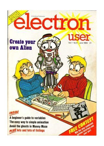 Electron User Vol.1 No.9 June 1984