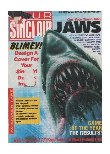 Your Sinclair. Issue 43. July 1989