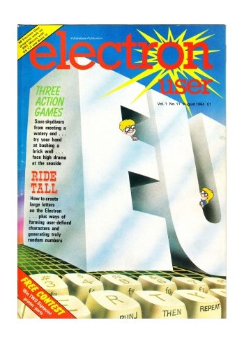 Electron User Vol.1 No.11 August 1984