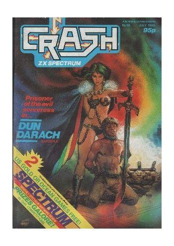 Crash. Number 18. July 1985