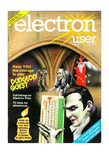Electron User Vol. 3 No. 1 October 1985