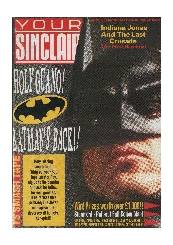Your Sinclair. Issue 44. August 1989