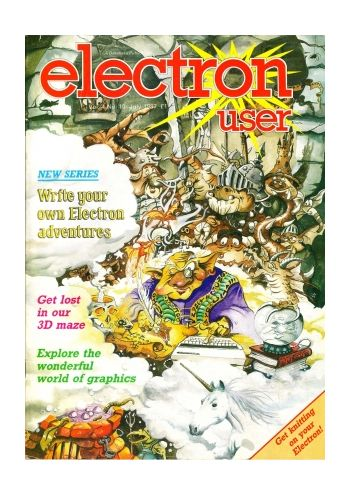 Electron User Vol.4 No.10 July 1987
