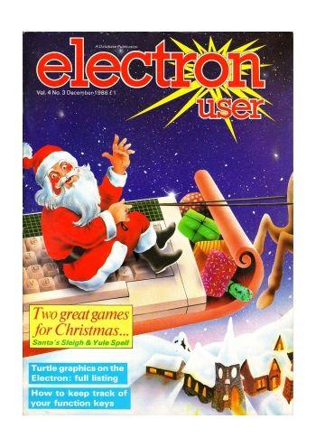 Electron User Vol. 4 No.3 December 1986