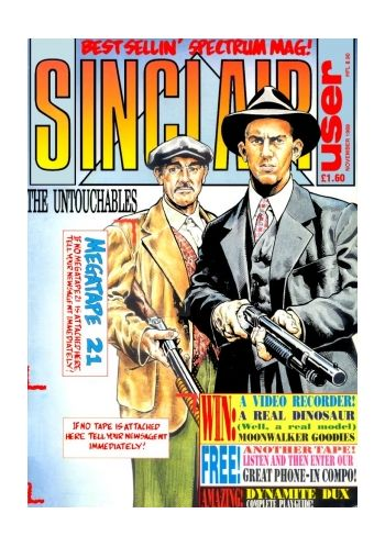 Sinclair User. Issue 92. November 1989.