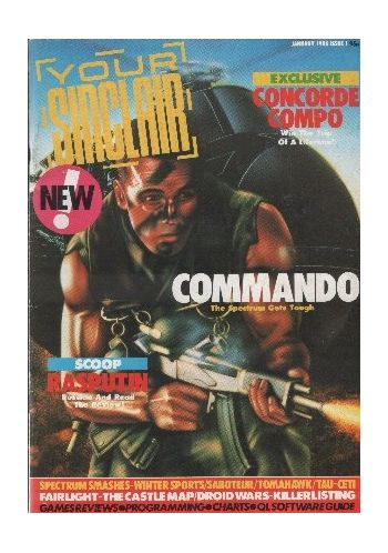 Your SInclair. Issue 1. January 1986