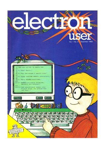 Electron User Vol.1 No.3 December 1983